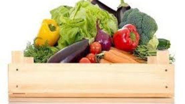 Cesta de verduras pequeña