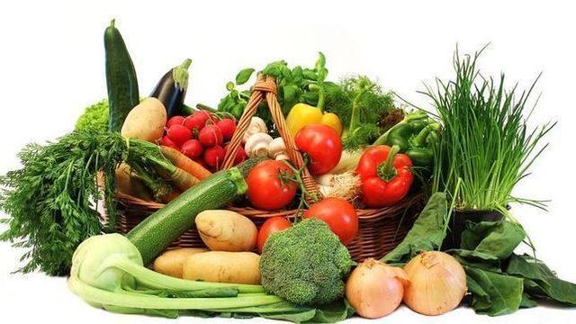 Cesta de verduras grande