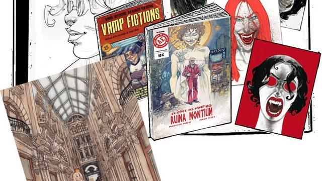 Cómic dedicado + agradecimiento + Vamp Fictions + 4 láminas + Commission DINA3