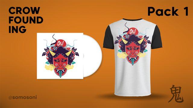 Pack 1: Camiseta + CD