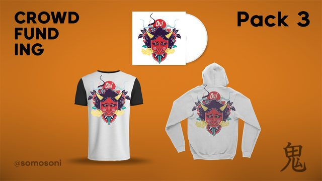 Pack 3: CD + Oniseta + Sudadera