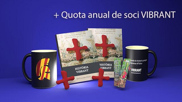 Llibre + Imant + Tassa + Dedicatòria personal de l'autor (TOT x2) + Quota de soci anual