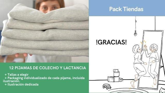 Pack 12 Pijamas - (tiendas y grupos de lactancia)