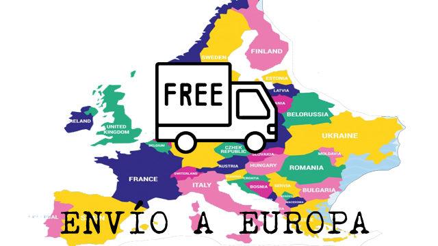Envío a toda Europa (NO INCLUYE LIBROS)