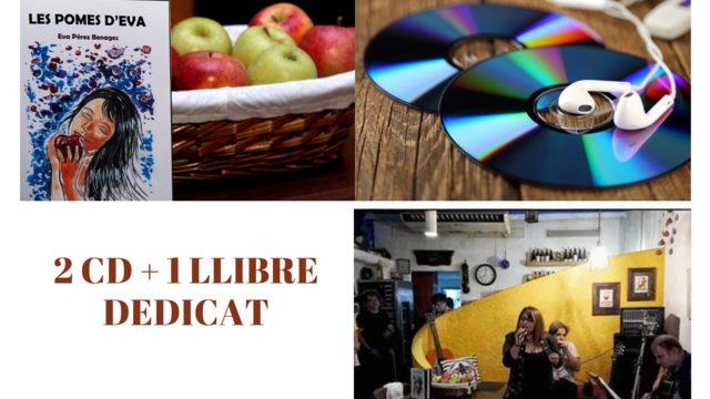 2 CD + 1  DEDICATED BOOK