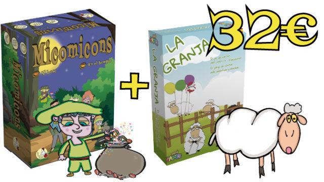 Pack Micomicons + La Granja