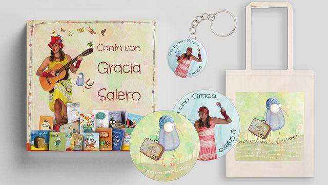 CANTA Y COMPRA CON GRACIA Y SALERO.
