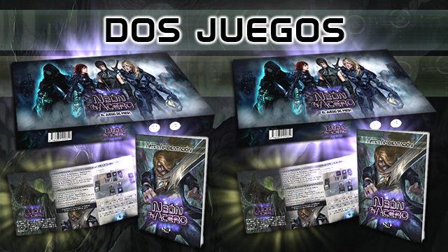 DOS JUEGOS + DOS LIBROS