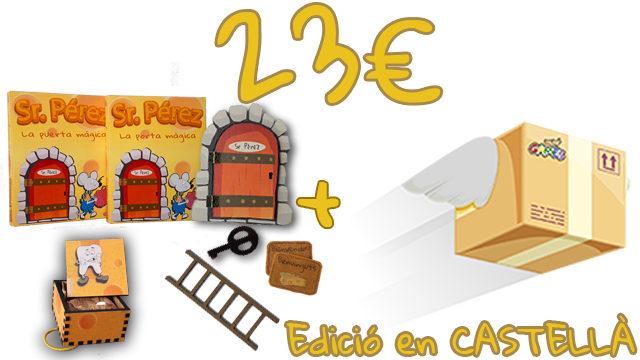La Porta Màgica del Sr. Pérez (Edició en CASTELLÀ) + Caixeta de les Dents