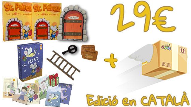 La Porta Màgica del Sr. Pérez (Edició en CATALÀ) + Joc de cartes del Sr. Pérez
