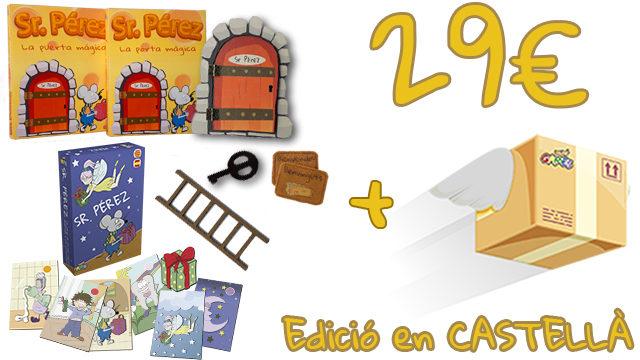 La Porta Màgica del Sr. Pérez (Edició en CASTELLÀ) + Joc de cartes del Sr. Pérez