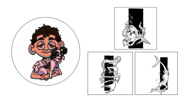 Retrato personalizado digital y láminas de Ana Muñoz
