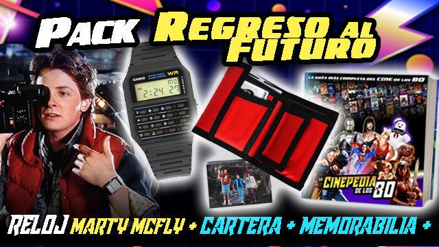 """PACK """"REGRESO AL FUTURO"""""""