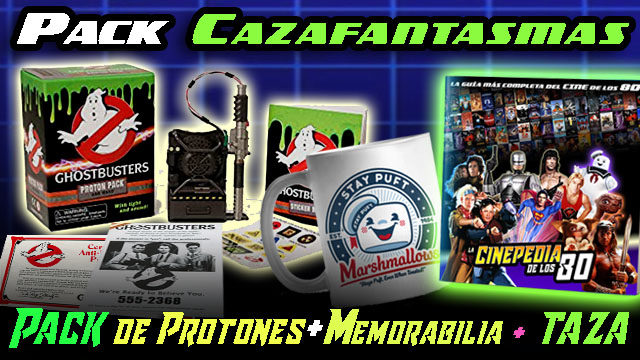 "PACK ""CAZAFANTASMAS"""