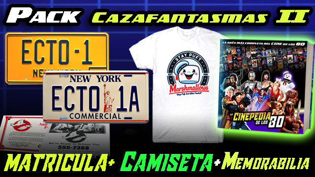 "PACK ""CAZAFANTASMAS II"""