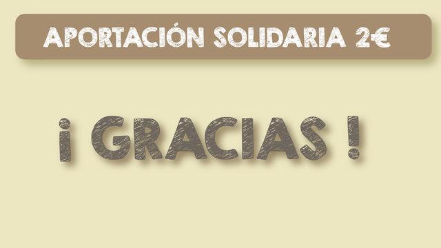 Aportación solidaria