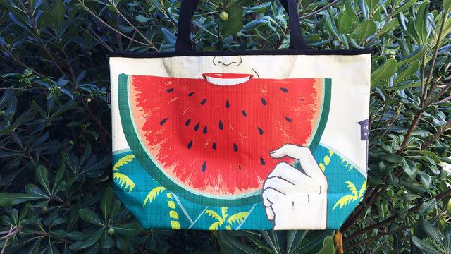 "Bolsos ""Geisha & Watermelon"""
