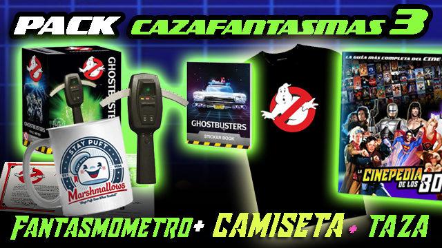 """PACK """"CAZAFANTASMAS III"""""""