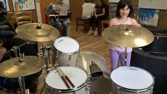 Clase de batería en Pamplona