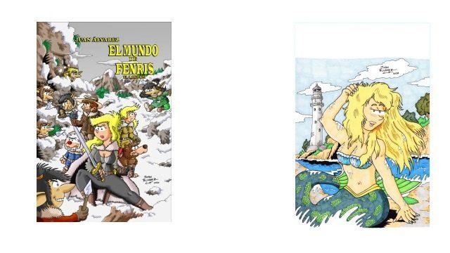 Comic + Commission (Encargo) a color tamaño A4