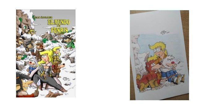 Cómic + Commission (Encargo) tamaño A4 a lápices de colores