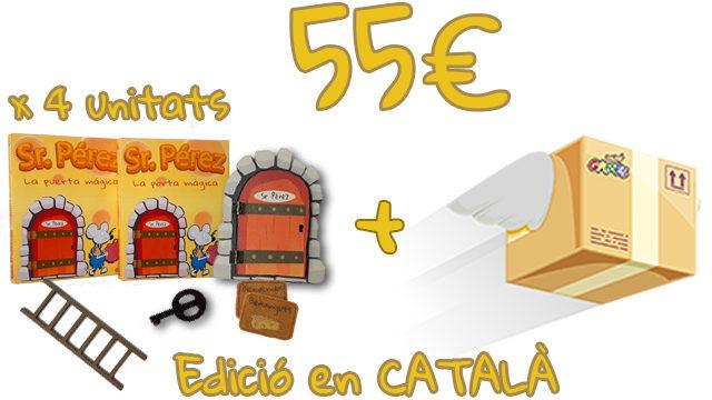 Pack Botigues - 4 unitats de La Porta Màgica del Sr. Pérez (Edició en CATALÀ)