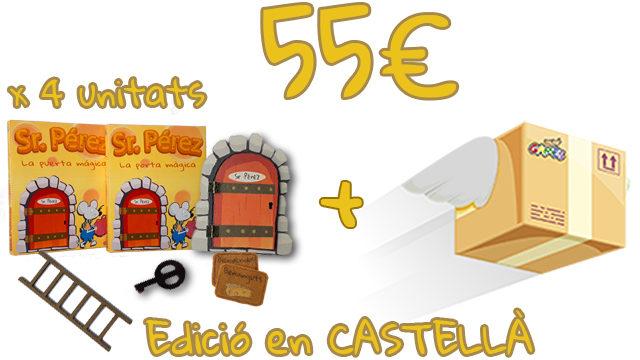 Pack Botigues - 4 unitats de La Porta Màgica del Sr. Pérez (Edició en CASTELLÀ)