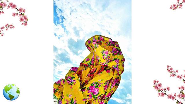 Flowers SARONG + INTERNACIONAL shipping