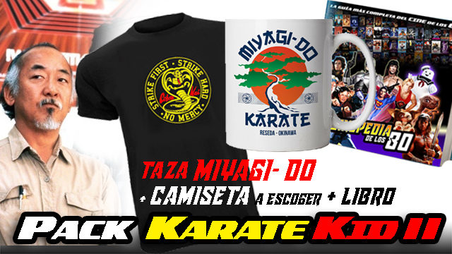 PACK KARATE KID II