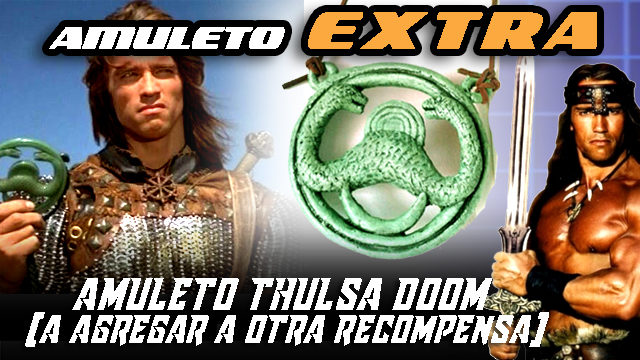 AMULETO de CONAN EXTRA
