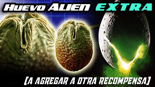 """HUEVO """"Alien"""" EXTRA"""