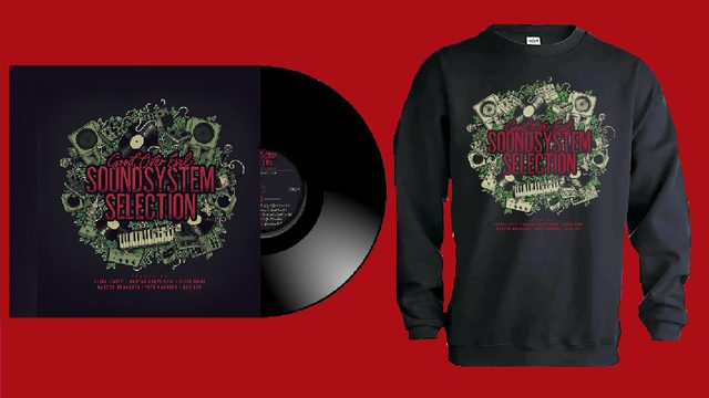 LP Sound System Selection + Sweatshirt