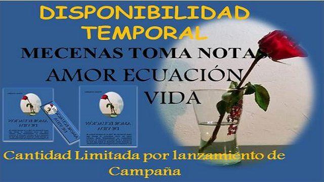 DISPONIBILIDAD TEMPORAL MECENAS TOMA NOTAS