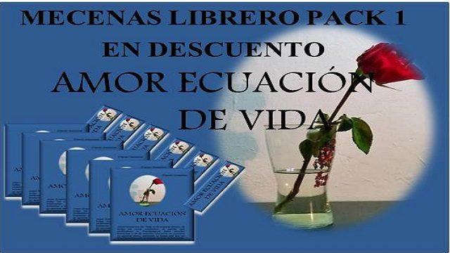 MECENAS LIBRERO PACK 1 EN DESCUENTO