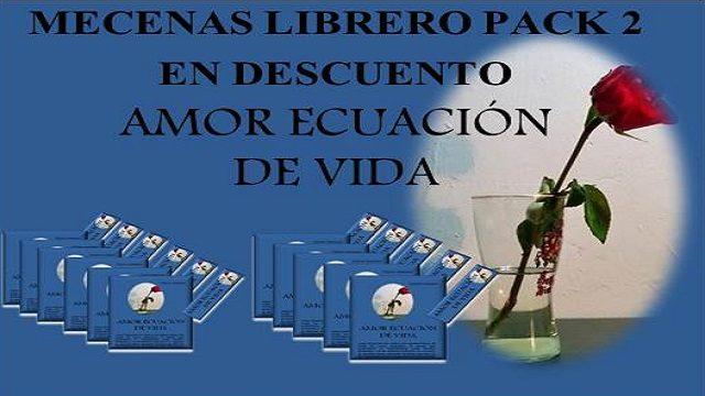 MECENAS LIBRERO PACK 2 EN GRAN DESCUENTO