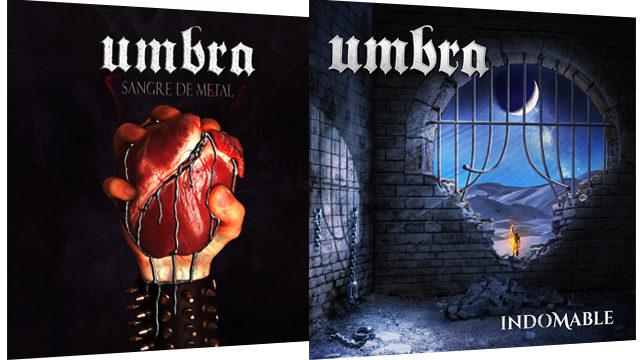 CD Indomable + CD Sangre de Metal