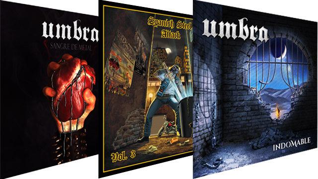 CD Indomable + CD Sangre de Metal + CD Spanish Steel Attack