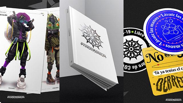 Artbook + Print A3 + Pegatinas