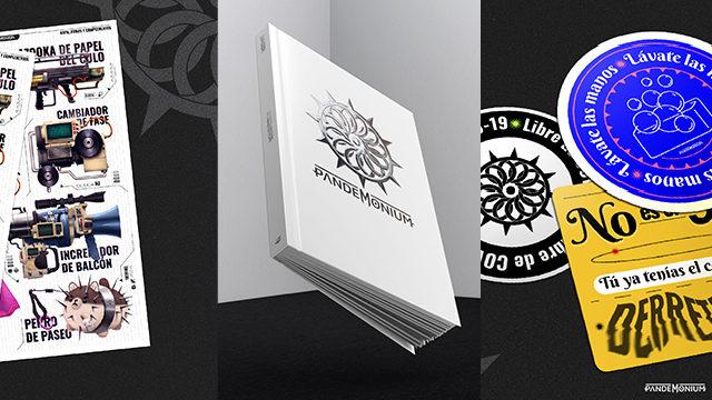 Artbook + Print A3 armas, ropa y complementos + Pegatinas