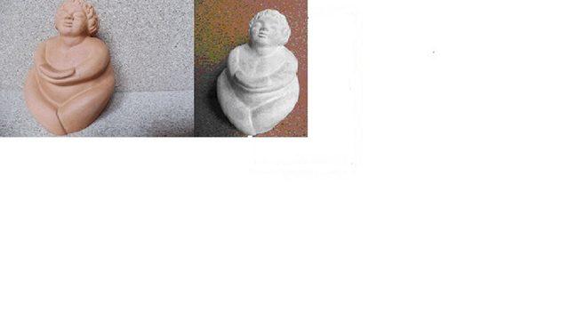 Escultura en terracota.