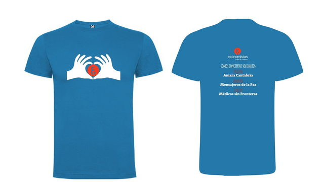 Camiseta solidaria