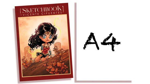 A4 EN EL SKETCHBOOK