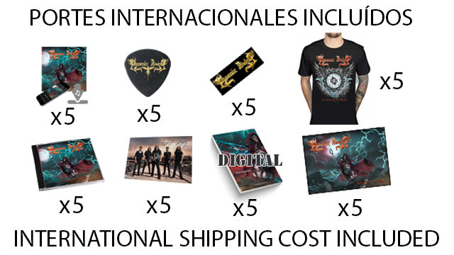 "Pack ESPECIAL ""Brothers of metal!"" (Fuera de España - Out of Spain)"