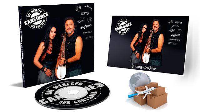 ENVÍO INTERNACIONAL CD 'Canciones que Merecen ser Contadas'