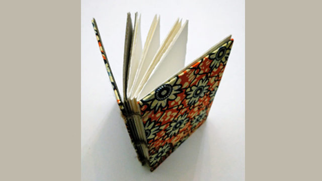 African notebook made by Lidia Herrero