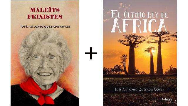 """Llibre en paper """"Maleïts feixistes"""" + llibre en paper """"El último rey de África"""""""