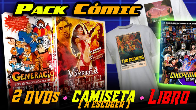 PACK CÓMIC