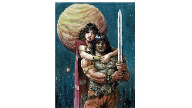 "Commission Santiago Giron ""Conan y Belit"""