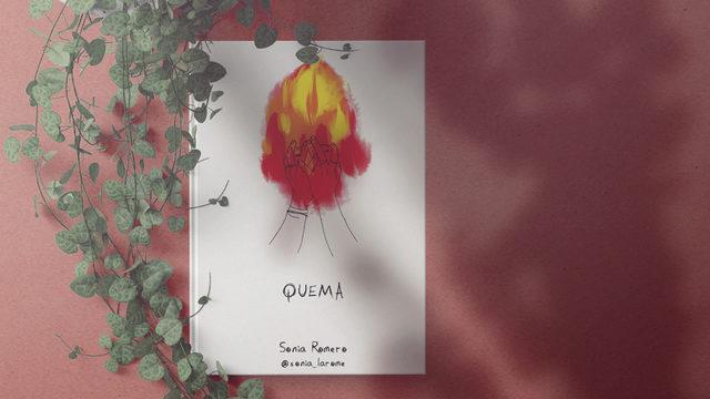 "Un ejemplar de ""Quema"" con dedicatoria"