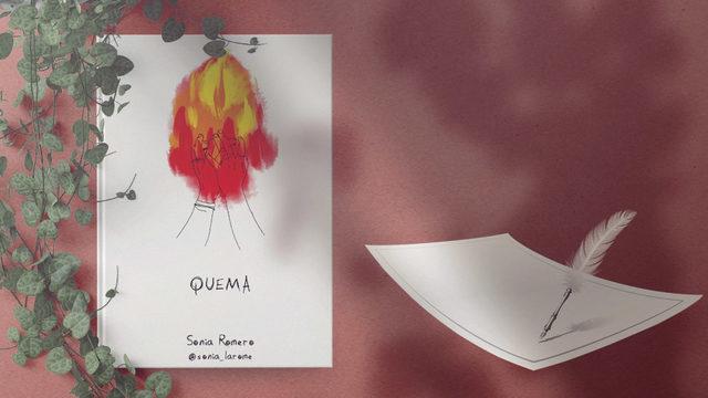 """Un ejemplar de """"Quema"""" con dedicatoria + Poema personalizado"""